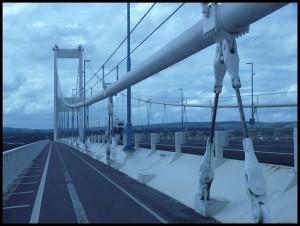 Ponte sul fiume Severn tra Bristol e Chepstow