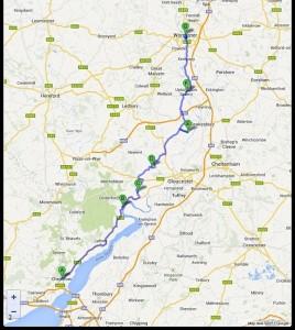 Chepstow-Worcester 60,8 miglia 29-7-2013