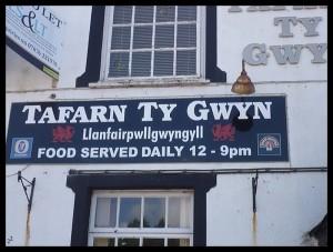 """Il pub, """"tafern"""" in gallese"""