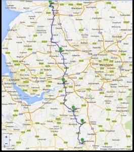 Crewe-Preston. 62 miglia. 3-8-2013