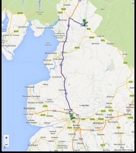 Preston-Kirkby Lonsdale (Cumbria) 46 miglia 4-8-2013