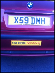 Amo l'Europa ma odio l'UE?