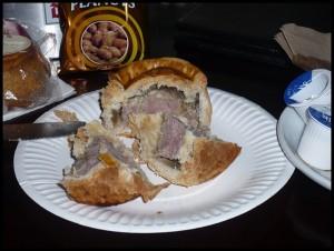 Achtung. Pork pie!