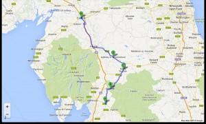 Kirkby Lonsdale-Carlisle. 68 miglia. 6-8-2013